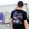 Haulin' Class Hammer Lane T-Shirt On Model Back