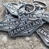 Hammer Lane Metal Keychain Grouped