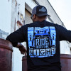 Hammer Lane Long Sleeve Ride Into The Night Shirt