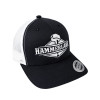 Snapback Black & White Hat