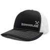 Snapback Black & White Cross Hammers Hat