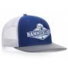 Snapback Royal Blue & White Hammerlane Trucker Hat