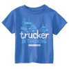 Trucker In Training Blue Shirt