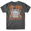 Orange KWhopper Hammer Lane T-Shirt Back