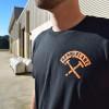 No Weigh 2.0 AK Series Hammer Lane Trucker T-Shirt On Model Front
