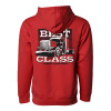 Best In Class Hammer Lane Hoodie Sweatshirt - Red Back