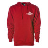 Best In Class Hammer Lane Hoodie Sweatshirt - Red Front