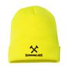 Yellow Cross Hammers Hammer Lane Beanie