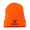 Orange Cross Hammers Hammer Lane Beanie