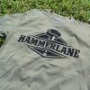 Hammer Lane Official Logo T Shirt Military Green