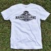 Hammer Lane Official Logo T Shirt White