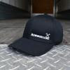 Black Hammerlane Cross Hammers Fitted Flex Hat