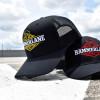 Snapback Echo Series Hammerlane Trucker Hat Front - Yellow Hat On Pavement