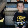 Big Tonka Hammer Lane Kids T-Shirt On Model