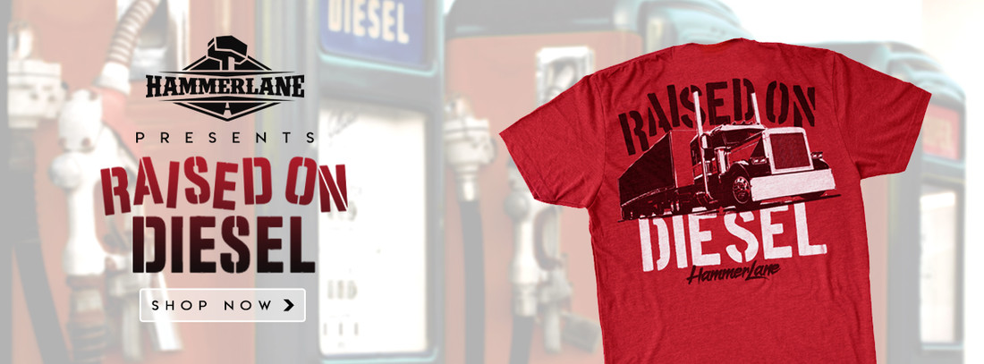 RAISED ON DIESEL - SHIRT SERIES PART 29