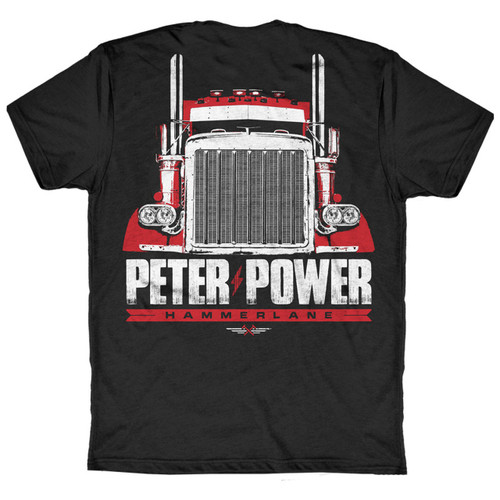 Peter Power Hammer Lane T-Shirt Back