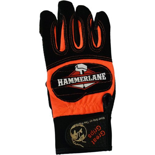 Hammer Lane Multipurpose Mens Trucker Gloves Orange