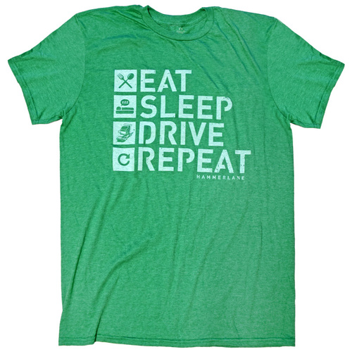 Eat Sleep Drive Hammer Lane Shirt
