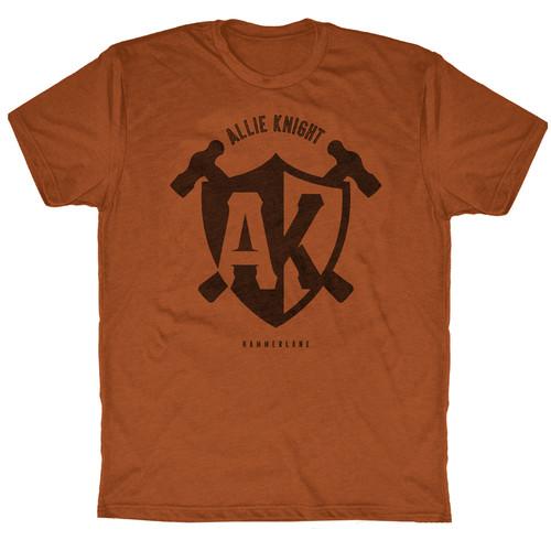 Shield AK Series Hammer Lane Trucker Shirt Shirt Orange