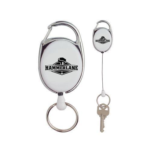 Hammer Lane Retractable Key Ring