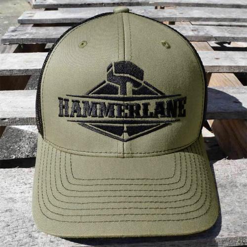 Snapback Army Green Hammerlane Trucker Hat