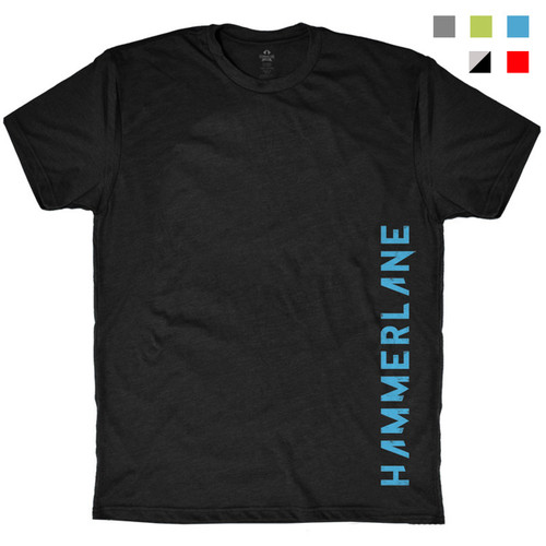 Hammer Lane Vertical Logo T-Shirt - All Colors