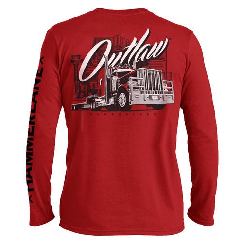 Outlaw Hammer Lane Long Sleeve Trucker T-Shirt