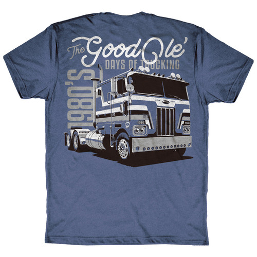 Good Ole Days Of Trucking Hammer Lane T-Shirt Back