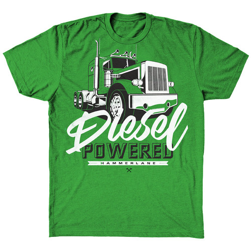 Diesel Powered Hammer Lane Kids T-Shirt