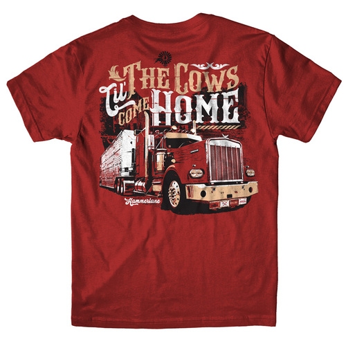 Til The Cows Come Home Hammer Lane T-Shirt Back