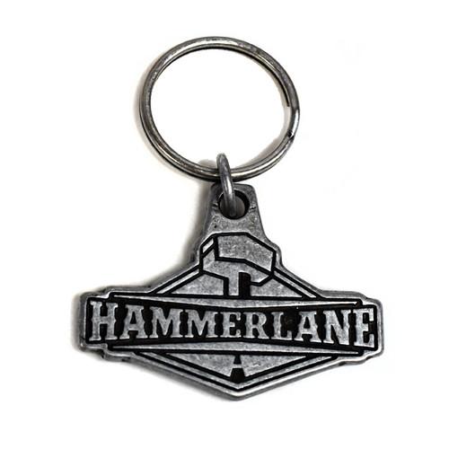Hammer Lane Metal Keychain