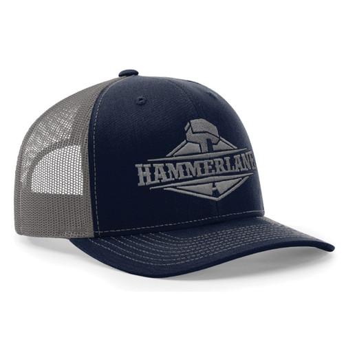 Snapback Navy & Charcoal Hammerlane Trucker Hat