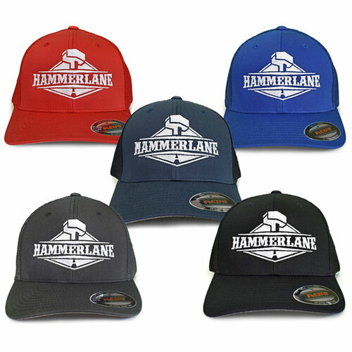 Hammer Lane Original Fitted Mesh Hat Bundle - All Colors