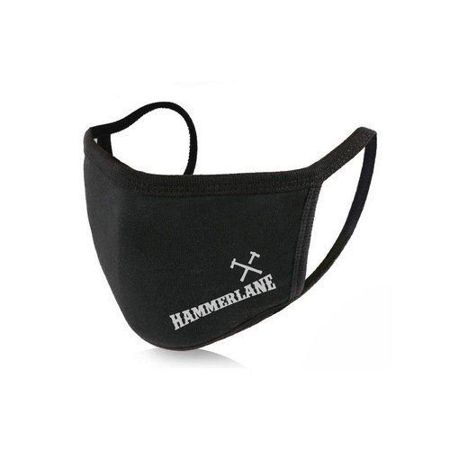 Hammerlane Cross Hammers Cloth Facemask