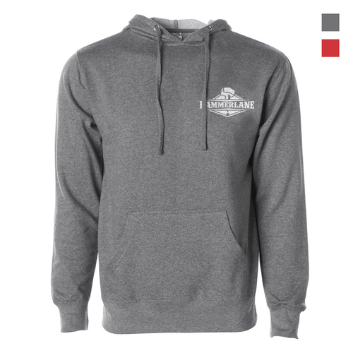 Best In Class Hammer Lane Hoodie Sweatshirt - Gunmetal Heather Front