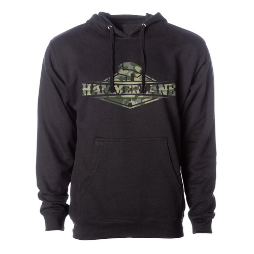 Hammer Lane Official Camo Logo Hoodie Sweatshirt