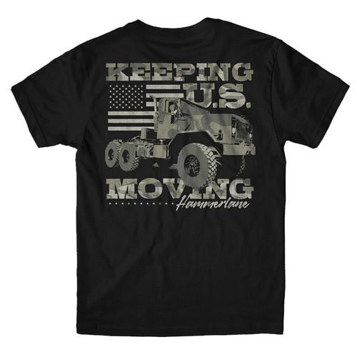 Keep U.S. Moving Hammer Lane T-Shirt
