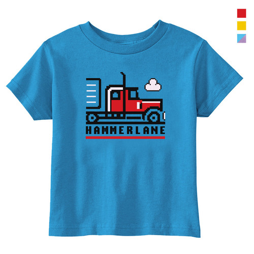 Hammer Lane Pixel Truck Toddler Tee