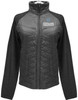 343 Women's Black Quilted Front & Fleece
