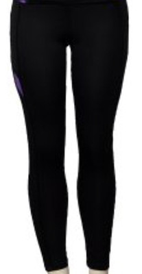 337 Exercise Pant with Sheer Side Panels