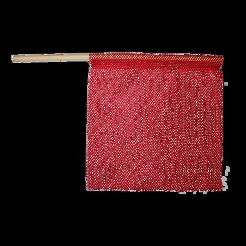 "24"" x 24"" Red Vinyl Jersey Safety Flag"