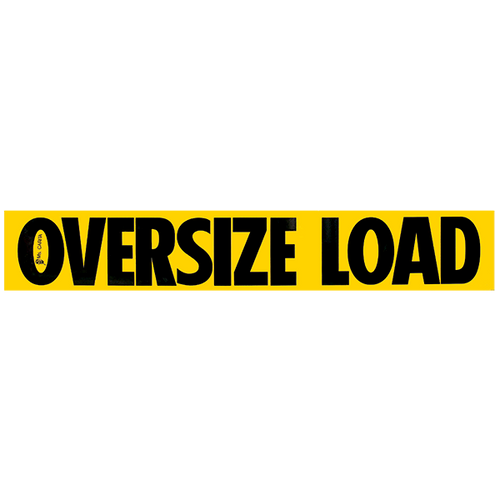 "12"" x 72"" Oversize Load Single Sided Sign"