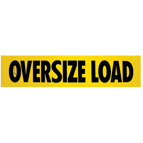 "12"" x 72"" Wooden Oversize Load Sign Single Sided"