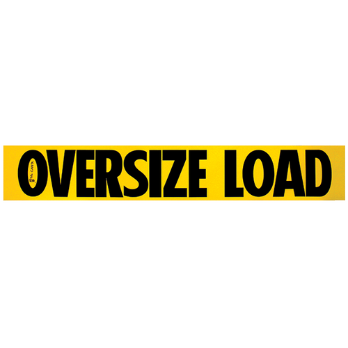 "10"" x 60"" Wooden Oversize Load Sign Single Sided"