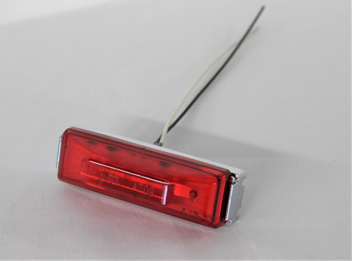Red Grote LED Marker Light with Sealed Wire