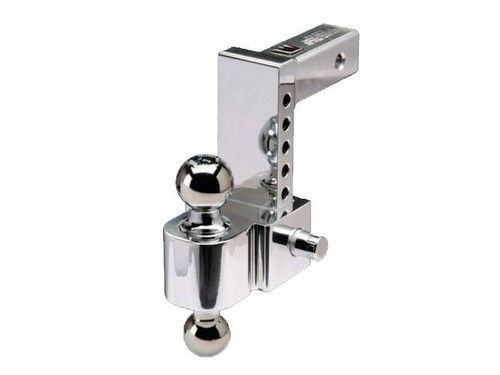 "Aluminum Adjustable Ball Mount with 6"" Drop"