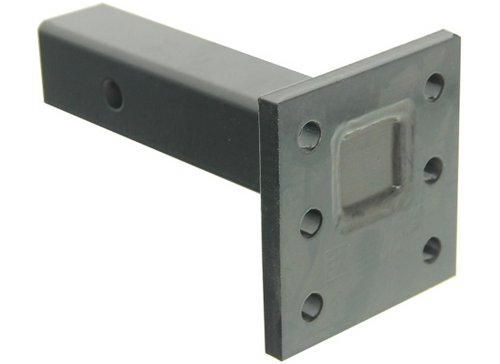 """Pintle Mount with 5"""" Plate and 8"""" Shank"""