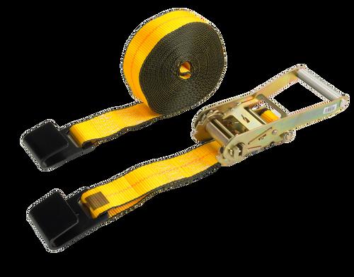 "Ratchet Strap 2"" x 27' 803 Long Wide Handle w/ 1015 Flat Hook"