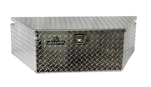 """Jutland Aluminum A-Frame Toolbox 19.25"""" x 40"""" x 12"""""""