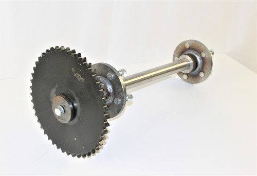 Complete Wheel/Hub Assembly, Sideway